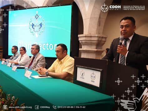 Felicita la CNDH por plan rector | CDDH Nayarit