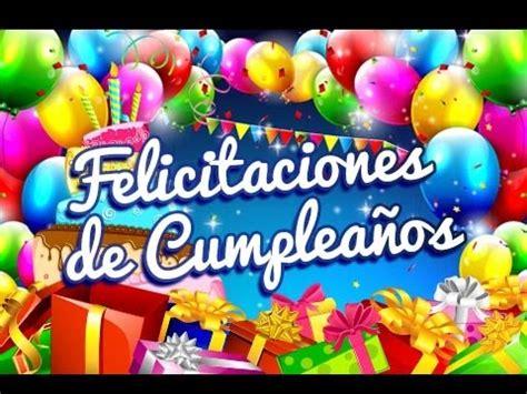 Felicitaciones de Cumpleaños   Felicitaciones de o para o ...