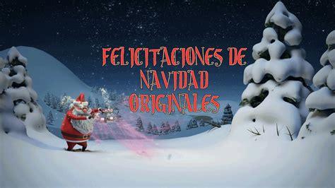 Felicitaciones de Navidad originales   YouTube