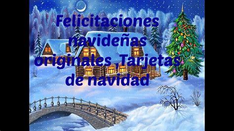 Felicitaciones navideñas originales ,Tarjetas de navidad ...