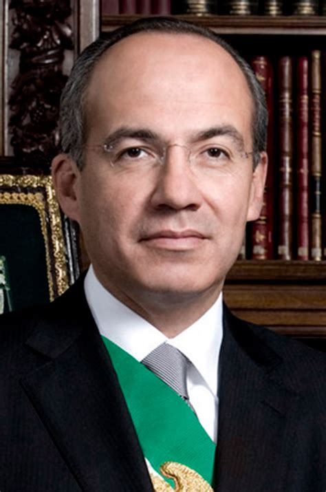 Felipe Calderón is the former President of México, club ...