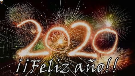 FELIZ AÑO NUEVO 2020   Video Felicitación Original para ...