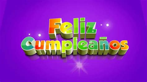 Feliz cumpleaños 3D Video Background   Fondo de video ...