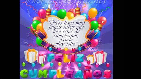 Feliz cumpleanos Angelica Masiel   YouTube