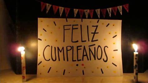 Feliz Cumpleaños! | Mi Regalo a Distancia...   YouTube