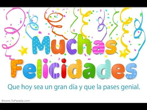 Feliz Cumpleaños original !!!!   YouTube