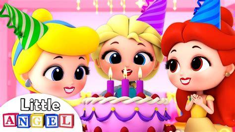 Feliz Cumpleaños te desean las Princesas | Canciones ...