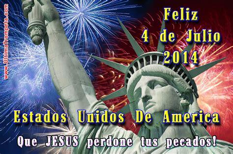 Feliz Día 4 De Julio, Independencia De Los Estados Unidos ...