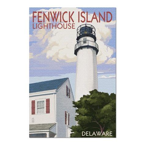 Fenwick Island, Delaware   Lighthouse  20x30 Premium 1000 ...