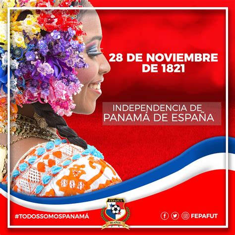 FEPAFUT on Twitter:  ¡Viva Panamá! Hoy celebramos 196 años ...