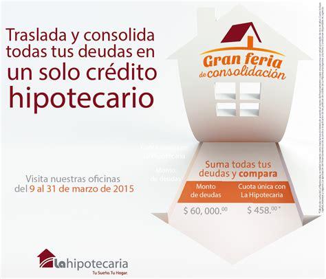 Feria de consolidación de deudas   La Hipotecaria El Salvador