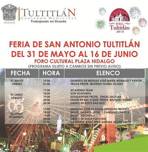 Feria Tultitlan 2013