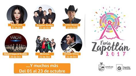Feria Zapotlán 2017 Fiestas de Octubre Ciudad Guzmán
