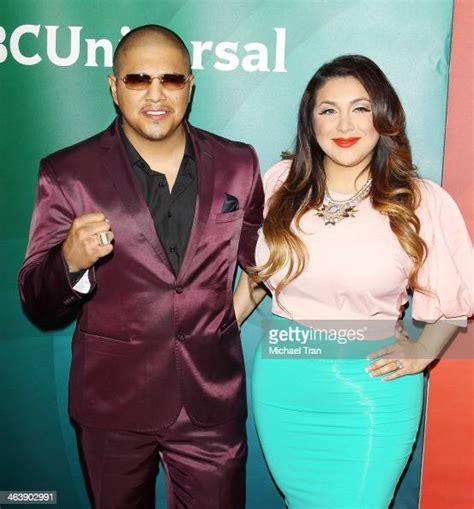 Fernando Vargas and Martha Lopez Vargas arrive at the NBC ...