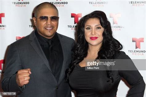 Fernando Vargas and Martha Lopez Vargas attend the 2013 ...