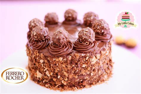 FERRERO ROCHER CHOCOLATE CAKE | MY LITTLE CAKES   YouTube