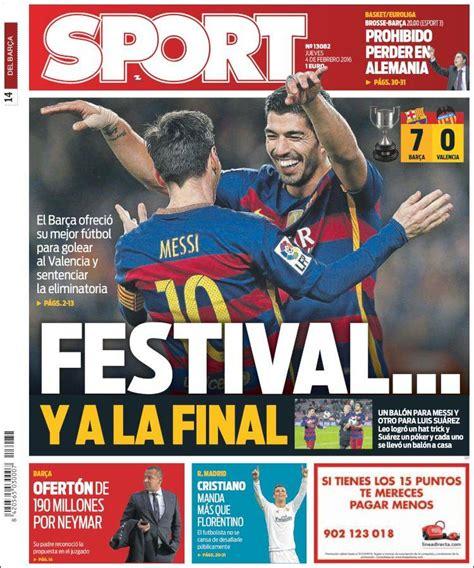 Festival blaugrana ante el Valencia y a la final: las ...
