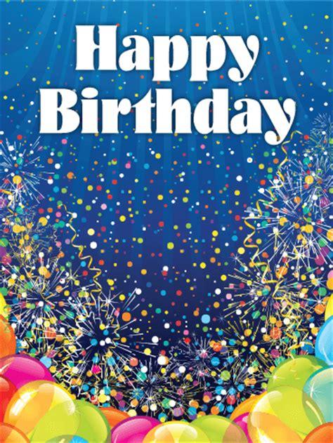 Festive Balloons Happy Birthday Card | Birthday & Greeting ...