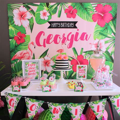 Festive Flamingo Birthday Party   Birthday Party Ideas ...