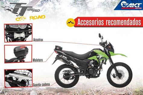 Ficha técnica AKT TTR 125