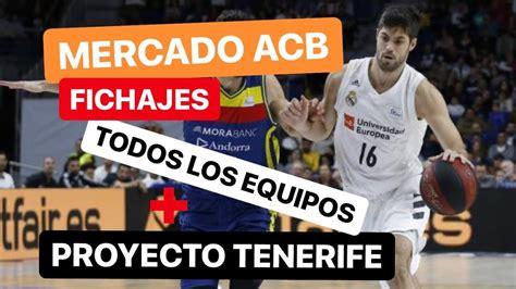 FICHAJES ACB: ESTUDIANTES, BILBAO BASKET  +EQUIPOS  y ...