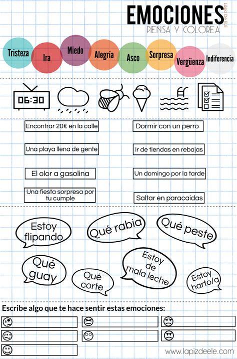 Fichas | Educacion emocional, Recursos de enseñanza de ...