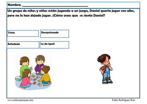 fichas empatia 01 | Habilidades sociales, Fichas ...