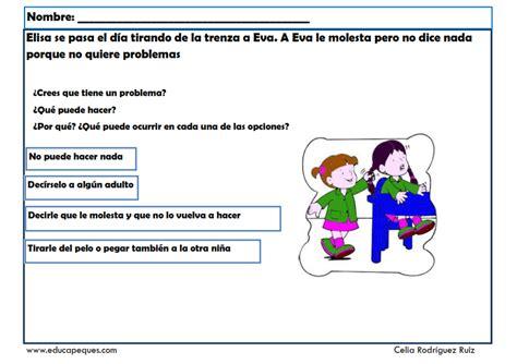 Fichas infantil: Habilidades sociales para solución de ...