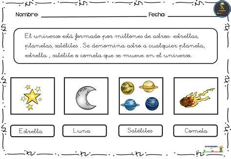 Fichas para conocer el universo  3  – Imagenes Educativas