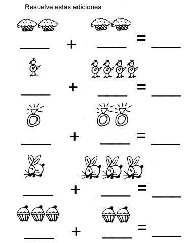 Fichas para trabajar matemáticas. | portadas | Actividades ...