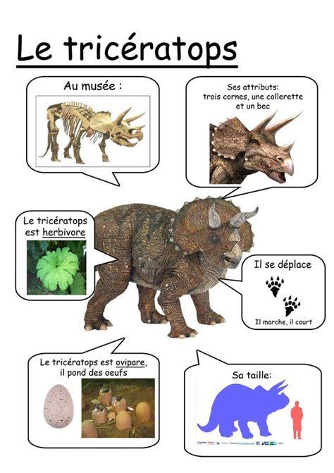Fiche tricératops … | enfant | Pinterest | Printed