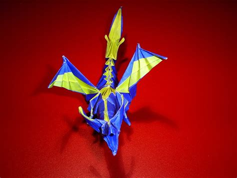 Fiery Dragon Origami by lonely white wolf on DeviantArt