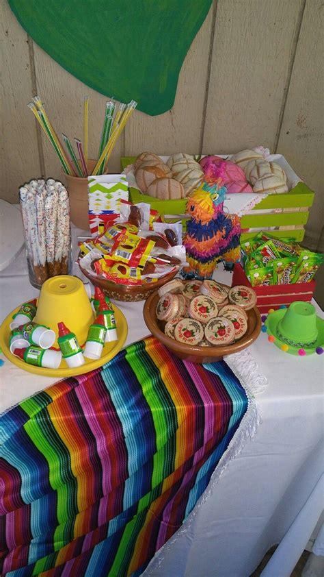 Fiesta baby shower candy table   Fiestas de cumpleaños ...
