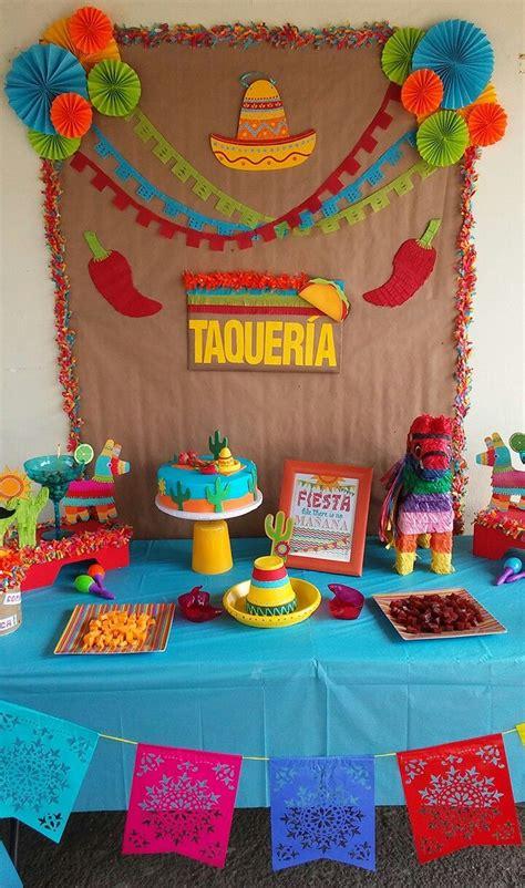Fiesta birthday decoration idea   Fiestas de cumpleaños ...