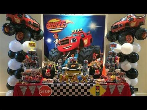 FIESTA DE BLAZE AND THE MONSTER MACHINES|PARTY|BIRTHDAY ...