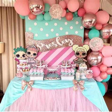 Fiesta de cumpleaños Muñecas LOL para un festejo de niña