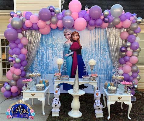 Fiesta de Frozen 2   Guía para decorar un cumpleaños de ...
