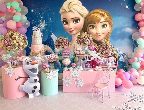 Fiesta de Frozen 2   Guía para decorar un cumpleaños de niña