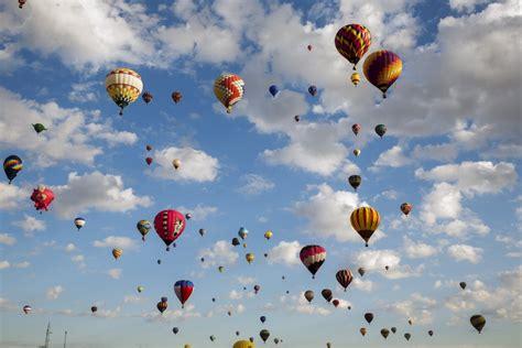 Fiesta de globos aerostáticos en Albuquerque: el mayor ...