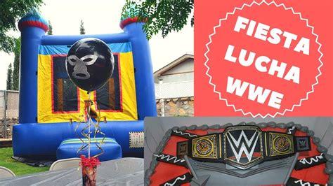 FIESTA DE LUCHA LIBRE! WWE CUMPLEAÑOS CENTRO DE MESA ...