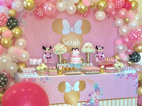 Fiesta de Minnie Rosa   Ideas para la decoración de este ...