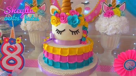 Fiesta de unicornios , arco iris , decoración temática ...
