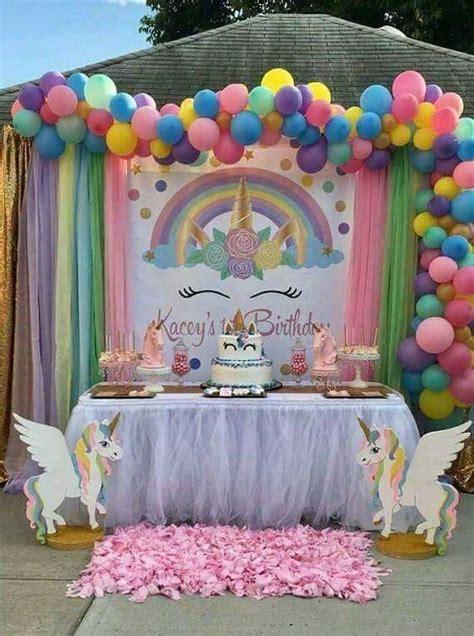 Fiesta de Unicornios   Organiza tu fiesta