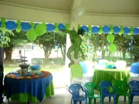 Fiesta Infantil BEN 10   YouTube