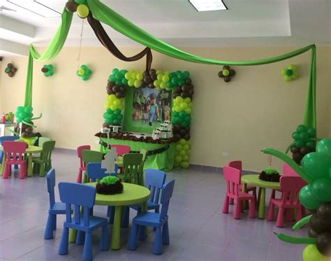 Fiesta infantil con tematica de Minecraft Managua ...