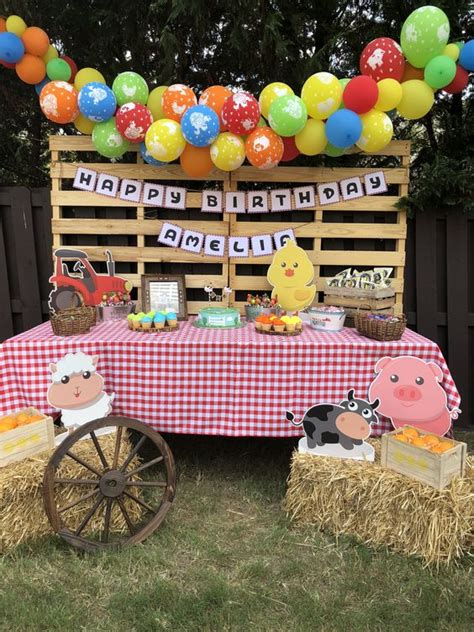 Fiesta Infantil de Granja   Organiza tu fiesta