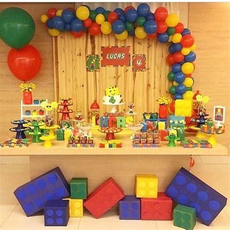 Fiesta infantil de lego para niños | Fiesta de legos ...