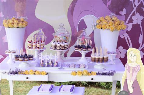 Fiesta Infantil de Rapunzel para el 5 Cumpleaños de ...