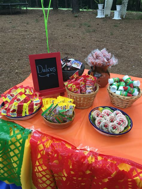 Fiesta Mexican candy table  With images  | Mexican ...