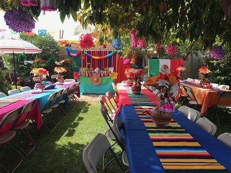 Fiesta mexicana   Decoracion fiesta mexicana